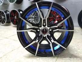 Velg Samurai R15x7 h4x100/114.3 ET 35 untuk mobil Jazz City Brio Yaris