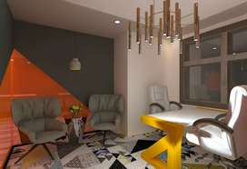 beautifully furnished 2000 to 6000 sqft corporate offices in sec 57-67