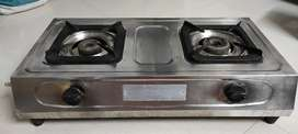 2 Burner ISI Mark Pure Stainless Steel Gas Stove