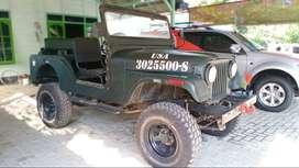 Dijual JEEP cj6 diesel 4x4