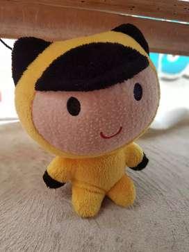Boneka mini kuning ex hadiah