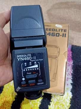 Flash YN460-II dan Trigger Fm Radio