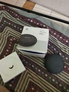 Google home mini -smart voice assistant new condition