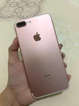 iPhone 7 plus in 128 GB ROM available with all accessories on EMI