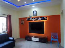 Available 2bhk fully fur flat Mapusa-Pedem sports Ground 45lacs