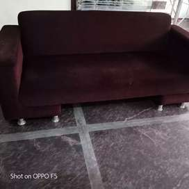 3 seater sofa and centre table without mirror..