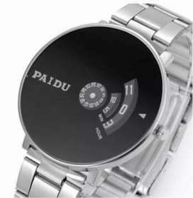 Imported PAIDU Turntable Clasic Watch with Attractive Black Dial.