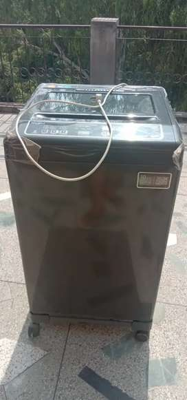 Fully automatic whirlpool washing machine 6.5 grey color