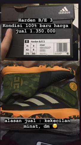 Sepatu basket adidas harden B/E 3