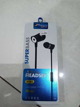 Headset super bass