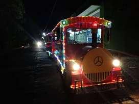 RF 31 usaha keliling bagus odong kereta mini wisata full lampu led