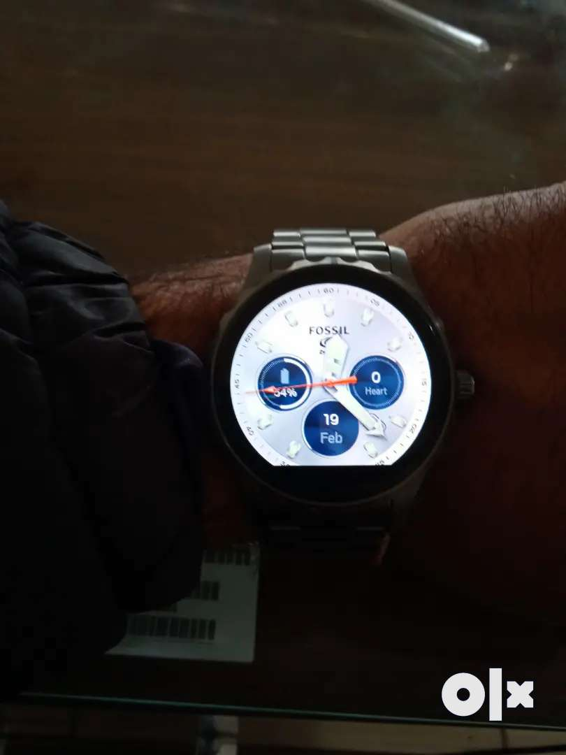 Fossil smart touchscreen watch 0