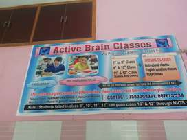 Teacher (1st to 10th) for Active Brain Classes
