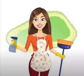 Di cari pembantu rumah tangga umur max 30th