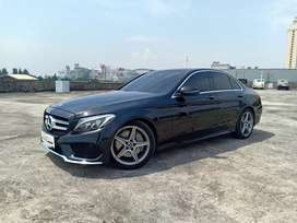 Mercy C300 Amg 2017 Black Km12rb mls Panoramic Hud display Xenon Burme
