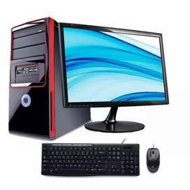 New Desktop with LED Monitor 200nos BPO Special
