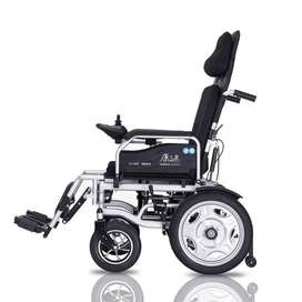 Brand New Foldable Reclining Electric Wheelchair