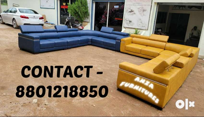 L SHAPED CORNERED SOFAS - different models designs recliners chairs..