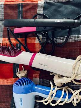 Hair styling appliances , dryer , straightner , air brush dryer comb!