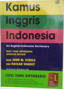 Kamus Inggris - Indonesia Hard cover (Asli bukan KW)
