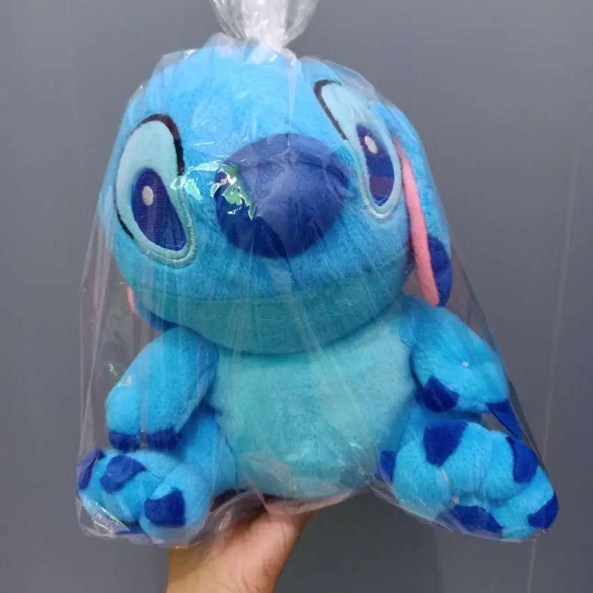 Boneka stitch biru