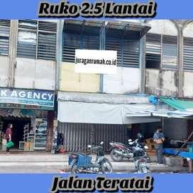 Jual Ruko strategis 2.5 lantai dijalan teratai,pekanbaru