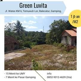 Tanah Dijual Bonus Tv/Kulkas di Jl Wates Arah Bandara