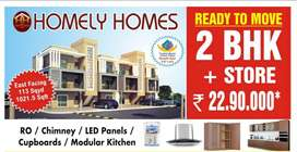 2 BHK READY TO MOVE FLAT.