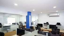 Fully Furnished ac office at palarivattom near bypass