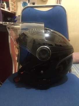 Helm Zeus ZS610 Size XL Hitam Mulus Edisi Gakepake