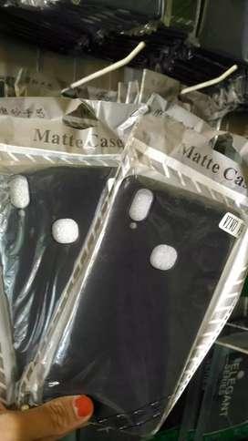 Softcase/Soft Case/Blackmatte/Black Matte Vivo V9