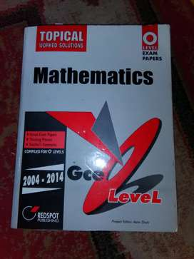 O level Topical past papers in good condition