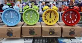 Jam Beker Kring Model Bulat huruf timbul. weker dering kencang