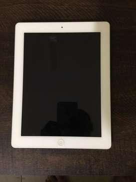 iPad 4 16 GB Silver Wifi as good as new