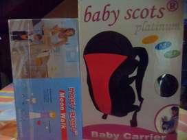 Gendongan bayi Baby scots platinum BB012 + Baby Moon Walk
