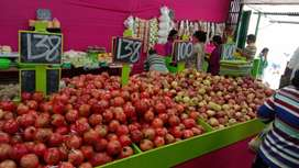 Vegetables and fruits shop