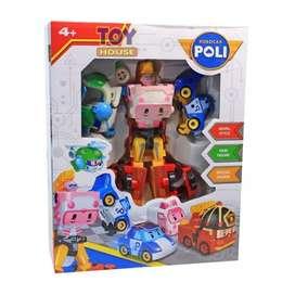 Mainan Robocar Poli Deformation