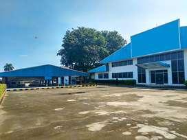 Ex Pabrik dijual Murah Lokasi Strategis dekat jalan raya di Karawang