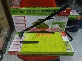 Paper Cutter Alat potong Kertas ukuran F4 mesin pemotong VTEC VT-1510