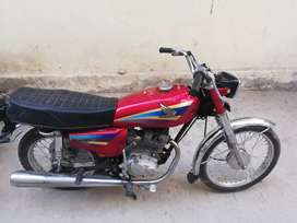 CG 125 Lahore Number Model 1998