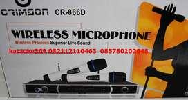 promo microphone wireless body babet aluminimum