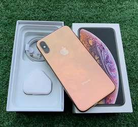 Iphone XS 64GB FULL SET ALL OPERATOR MULUS