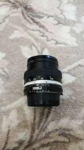 Lensa nikon 50 mm f 1,4 AIS