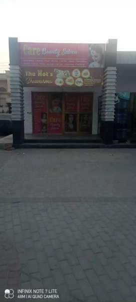 Shop for rent at attractive location