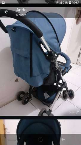 Dijual Stroller Pliko Compact