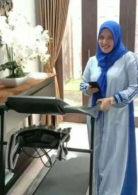 Treadmill elektrik newsporty massage familly Batu