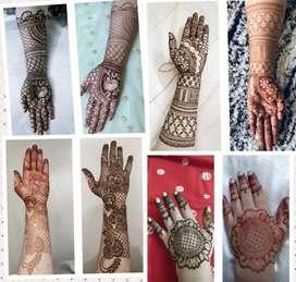Bridal Mehendi designer available