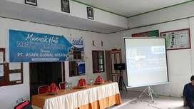 Sewa Giant Screen dan Rental Layar Area Kota Makassar Bisa Antar