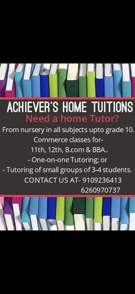 Achiever's home tuitions
