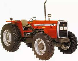 FOUR BY FOUR MASSEY 385 FERGUSON'S TRACTOR